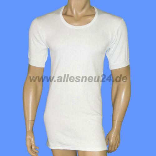 4er-Pack Uomo sotto camicia con 1//4 braccio COTONE nadelzug in bianco mis. 5-8