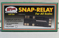 ATLAS HO SNAP RELAY track rail train electrical for switch turnout control 200