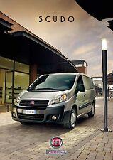 Fiat Scudo 01 / 2012 catalogue brochure