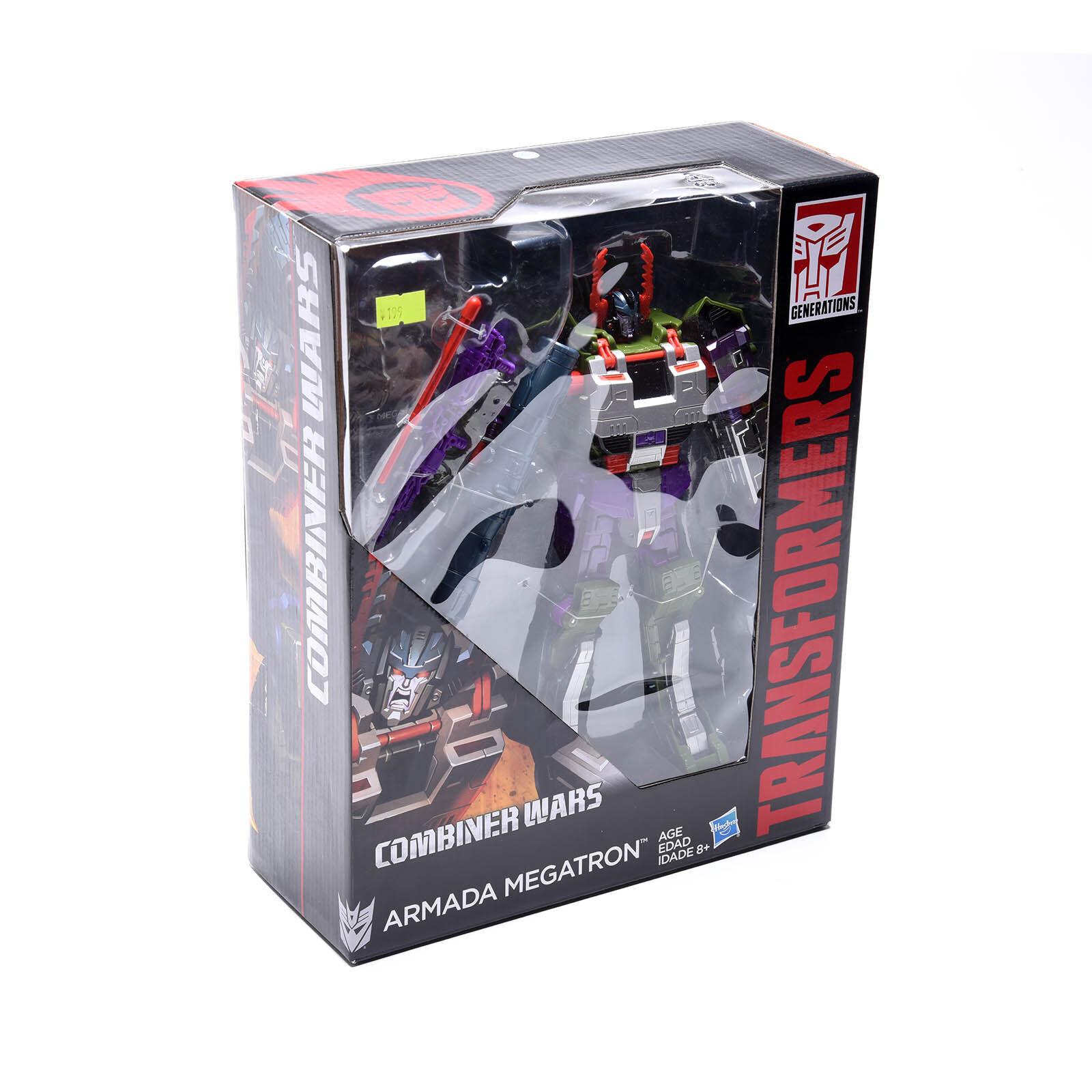 Hot Transformers Combiner Wars Leader Class Armada Megatron Grün Version NEU