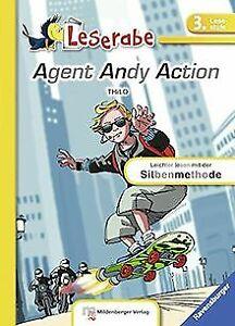 Agent-Andy-Action-Leserabe-mit-Mildenberger-Silbenmetho-Buch-Zustand-gut