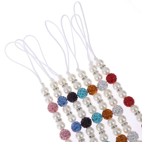 1PC Crystal Baby Kids Plastic Beaded Pacifier Clip Teether Dummy Strap ChainPZY