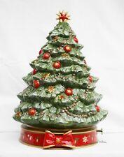 Villeroy und boch weihnachtsbaum mit spieluhr