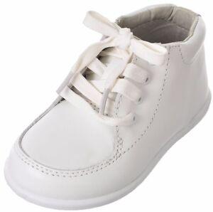 e7ead90fc073 BABY INFANT TODDLER WHITE Unisex Walking Shoes INFANT  Toddler JOSMO ...