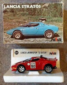 POLISTIL LANCIA STRATOS STRATUR S32 DIE CAST MODEL CAR Brand New + Original Box