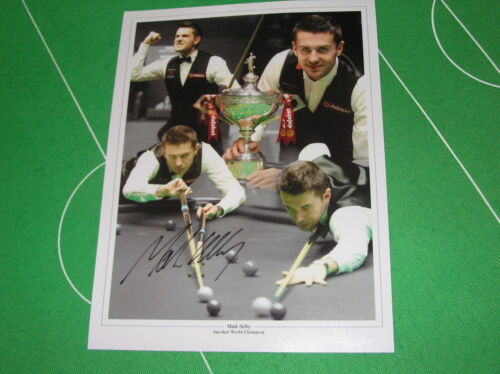 The Jester From Leicester Mark Selby Signed 2014 Snooker World Champion Montage