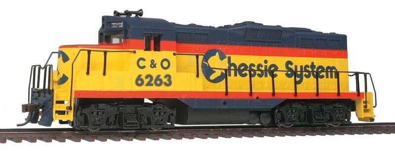 Gauge H0 - U.S.DIESEL LOCOMOTIVE GP9M Chessie CHESAPEAKE & Ohio with DCC 5100