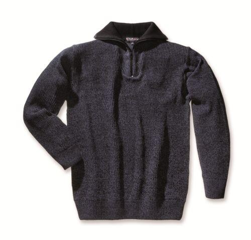 tute da lavoro Troyer tempo libero Abbigliamento Melliert Nero//Blu taglia XL Pullover