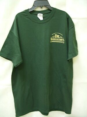"""/""""Live Over A Saloon/"""" Promo Men/'s T-Shirt *NEW* Dr McGillicuddy/'s Schnapps"""