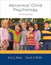 Abnormal Child Psychology-ExLibrary