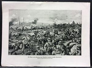 France-Braye-German-Storm-Troopers-Military-WK1-Art-Print-Gehrts-W-4186