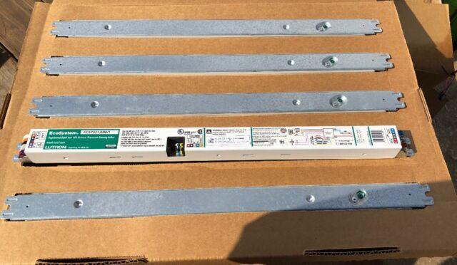 Lutron 2 Lamp F55T5HO Electronic Ballast 10-100/% Dimming 120V-277V EC5T555JUNV2