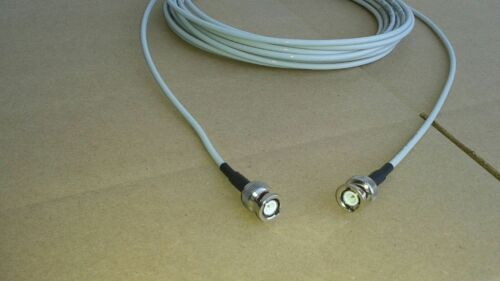 US MADE BELDEN RG-58 PLENUM   BNC Male  to BNC Male   50 ohm  coax cable 15FT