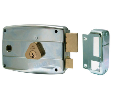 Lock Cisa 50571.60 Right MM.60 Apply Port Metal Galvanized Cylinder Fixed
