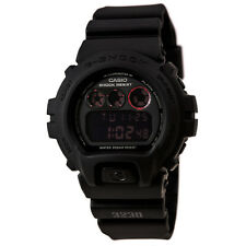 Casio Men's Watch G-Shock Alarm Black & Pink Digital Dial Resin Strap DW6900MS-1