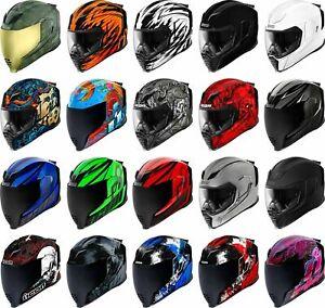 Icon-Airflite-Helmet-Full-Face-Motorcyle-Street-Riding-Race-DOT-ECE-Adult
