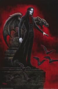 POSTER-FANTASY-CRIMSON-THIRST-BY-JOSEPH-VARGO-FREE-SHIPPING-RC20-S