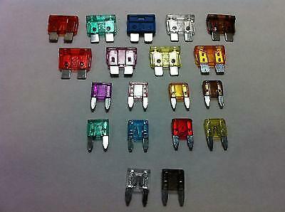 Coche eléctrico viajes Repuesto Mix blade estándar Spade Fusibles mixto Mini Amps