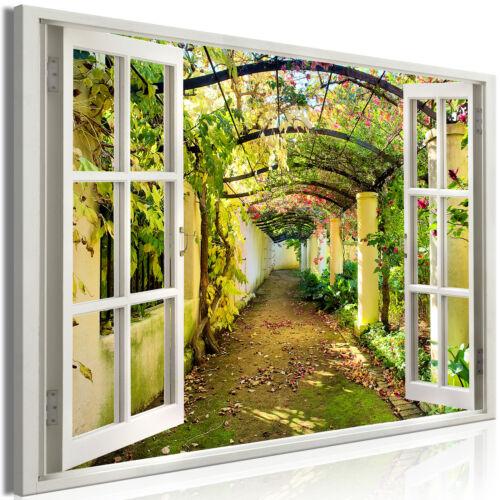 XXXL Wandbild Fenster Riesenformat Leinwandbild xxl Canvas Bild c-C-0089-ak-a