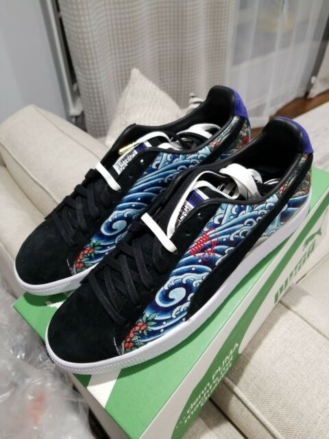 separation shoes a0a4f cb6e0 Puma Clyde Atmos Tattoo japanese 364304 01 sz 10.5