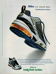 Details about 2000 NIKE Air metal Max : Magazine Print AD .