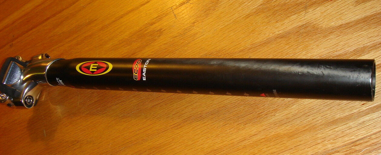 New Easton EC70 Carbon 12mm Offset 30.9 x 350mm Seatpost