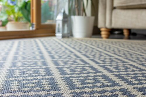Florence Moretti Alfresco Beige Anthracite Flatweave Rug various sizes /& runner