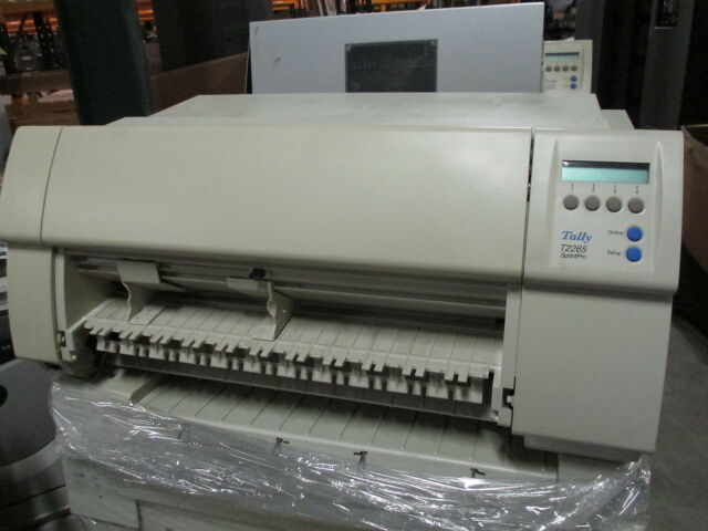 TALLY T2265 A3 Parallel Serial Dot Matrix Impact Printer Drucker NO PAPER FEED