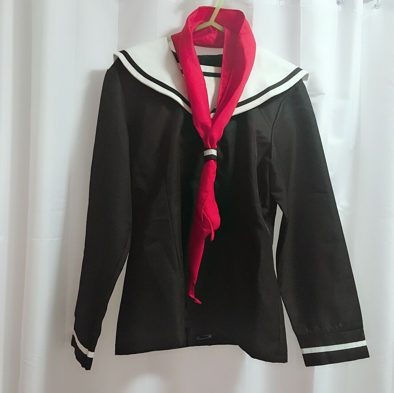 Japanese traditional school uniform, Hell girl Ai Enma cosplay