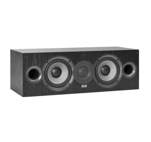 Black Center Channel Speaker Ea. Elac Debut 2.0 C5.2