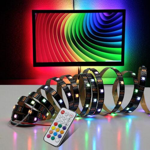USB 5V LED Strip Dream Color WS2812B RGB Runing Color USB controller POWER