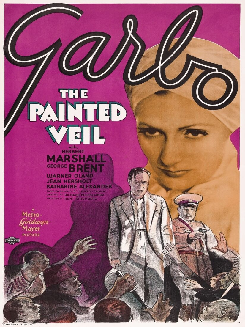 6998.Garbo.the painted veil.close up of greta garbo.POSTER.art wall decor