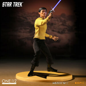 MEZCO-ONE-12-COLLECTIVE-STAR-TREK-LIEUTENANT-SULU-FIGUR-NEU-OVP