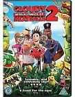 Cloudy WIth A Chance Of Meatballs 2 (DVD, 2014)