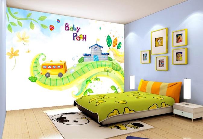 3D Grün Tree Rattan Cartoon 46 Wall Paper Wall Print Decal Wall AJ WALLPAPER CA