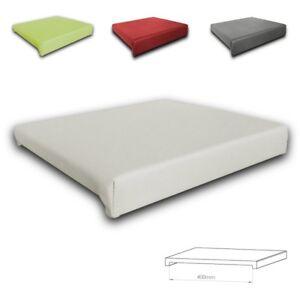 Klemm-Kissen-Sitz-Kissen-mit-2-Leisten-Tiefe-40-cm-weiss-grau-rot-gruen