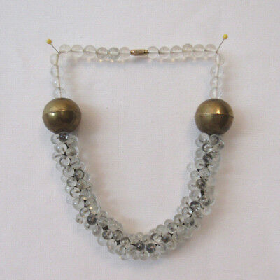 1960/'s Mod Necklace Neon 3D Beads Hong Kong Green Yellow Orange Vintage Costume Jewelry 60/'s Accessories MoonlightMartini