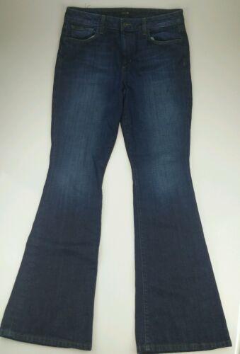 Joe's 31 Size Women's Visionaire Bootcut Jeans Blue Denim Wash Dark Stretch PqrgPvR1