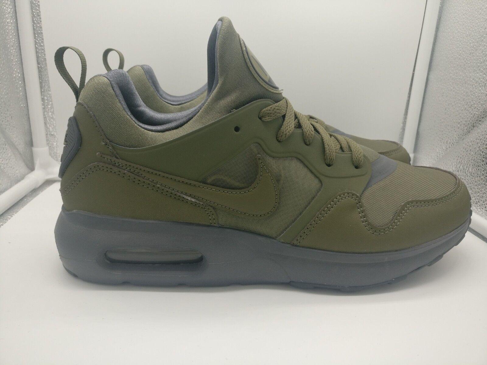 Nike Air Max Prime UK 5.5 Medium Olive 876068-200