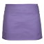 miniature 10 - Half Size Waist Waiter Waitress Apron Solid Colour Apron Bar Cafe Pub 2 Pockets