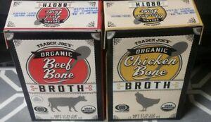 Trader Joes Organic Beef Bone Broth And Chicken bone Broth ...