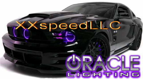 ORACLE Ford Mustang 2010-2012 PURPLE LED Headlight Halo Angel Eyes Kit