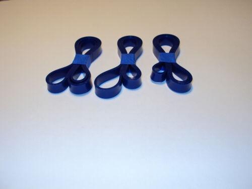 """113244513 SET OF 3 BLUE MAX URETHANE BANDSAW TIRES FOR 10/"""" CRAFTSMAN 113244513"""