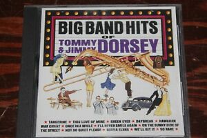 99-cent-Jazz-CD-Tommy-and-Jimmy-Dorsey-034-Big-Band-HIts-034