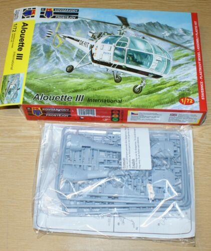 in 1//72 von KPM Alouette III International 4x camo