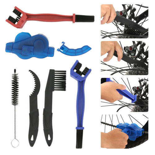 Bicycle Chain Cleaner Brushes Cycling Cleaning Wash Tool Kit for Mountain Bike