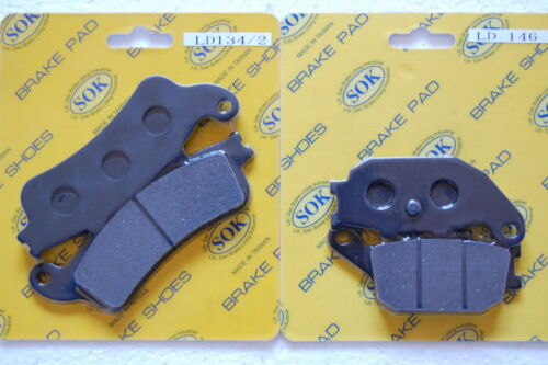 01-07 NSS250 NSS250A NSS250S FRONT REAR BRAKE PADS fits HONDA NSS 250 Reflex
