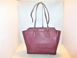 3b8b8bf803f6 Image is loading Michael-Kors-Handbag-Dee-Dee-Large-Saffiano-Convertible-