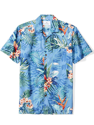 28 Palms Men's Standard-fit 100% Cotton Tropical Hawaiian Shirt, M 2019 New Fashion Style Online