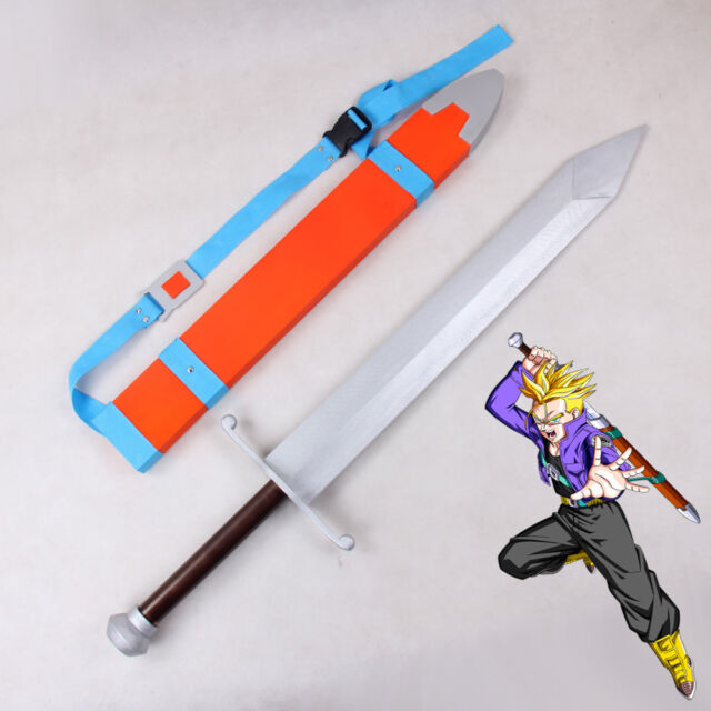 dragon ball z trunks replica sword with sheath for sale